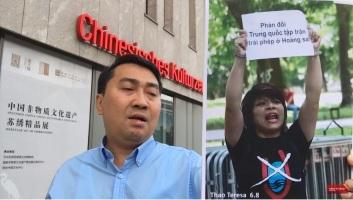 2019 biểu tình Hanoi cô Thảo
